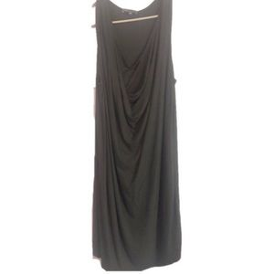 Vince dress charcoal grey sleeveless size Medium